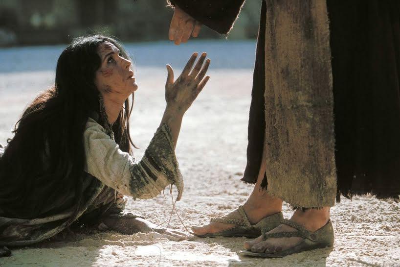 Gesù e il peccatore…..