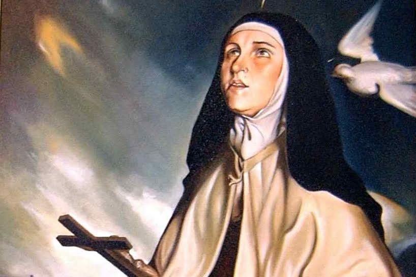 I 4 suggerimenti spirituali di Santa Teresa di Gesù.
