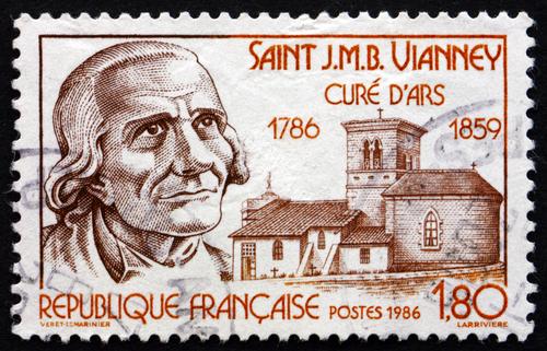 Jean-Marie Vianney, curato d'Ars, fabbro della misericordia.