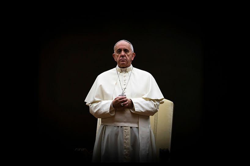 "La ""solitudine"" di papa Francesco."