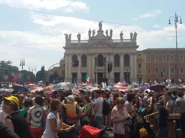 Sabato 20 giugno un popolo s'è desto.