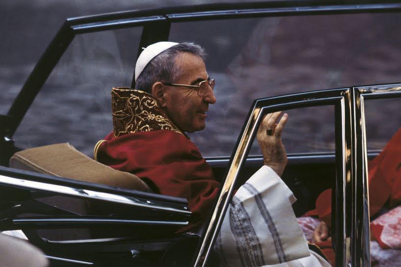 Giovanni Paolo I, il papa del sorriso.