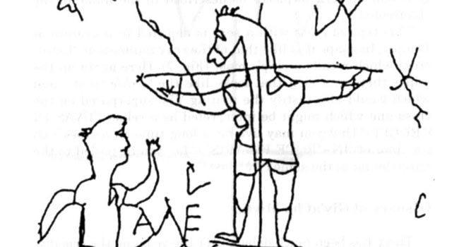 Ecco cosa ci insegna la prima vignetta di satira anticristiana.
